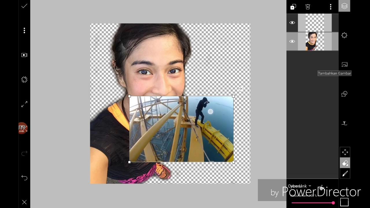 TUTORIAL cara edit Foto di App Picsart seakan2 foto d ...