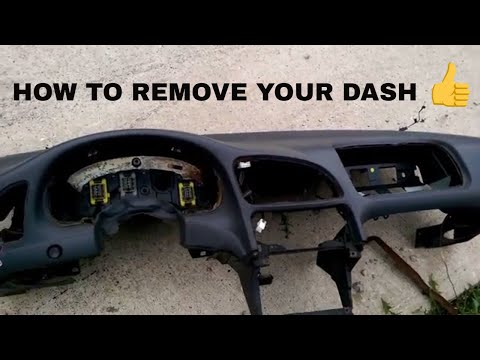 Dash Removal Instructions, Mitsubishi Eclipse, Plymouth Laser, Eagle Talon | How To
