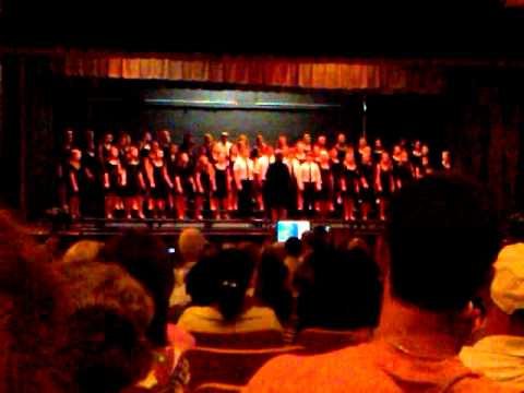 york middle school spring chorus