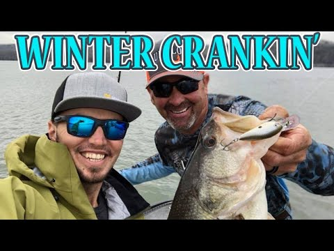 Cold Water Crankin' SECRETS : Catch Winter Bass W/ GERALD SWINDLE