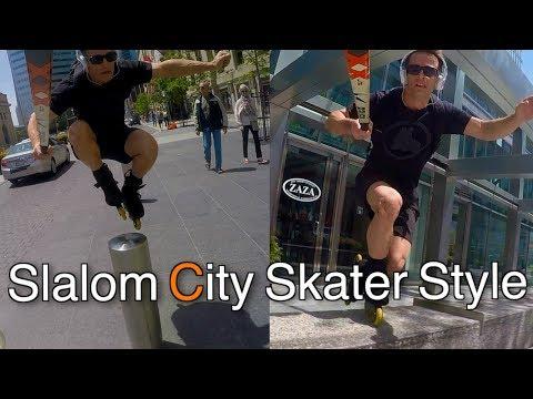 Slalom - City Skater Style