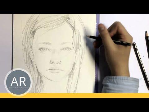 zeichnen lernen portrait zeichnen akademie ruhr. Black Bedroom Furniture Sets. Home Design Ideas