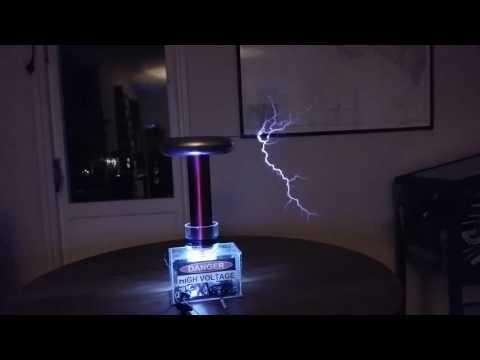 Wintergatan Marble Machine played on Tesla Coil (oneTesla)