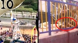 10 FREAKIEST Amusement Park Accidents | TWISTED TENS