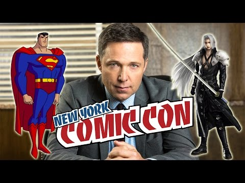 GNP s: The Justice League's George Newbern NYCC