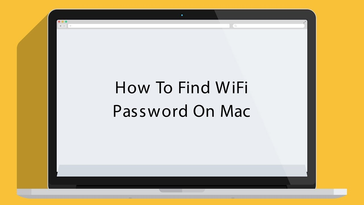 how to find wifi password on mac youtube
