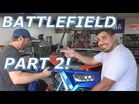 Battlefield Part 2, New Tires, And Nicks New Cage FAIL
