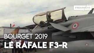 Salon du Bourget : découvrez le Rafale F3-R