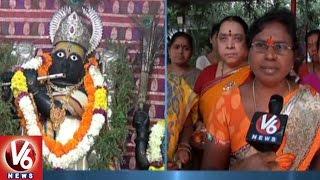 Karthika Masam   Devotees Throng To Gopala Krishna Temple   Adilabad   V6 News