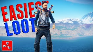 FARMING PLAYERS = EASY LOOT | Rust SOLO Survival #2