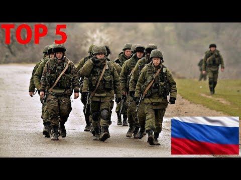 TOP 5 - nejsilnějších ruských zbraní