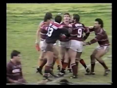 1987 Round 22 Eastern Suburbs (Sydney) Roosters vs Manly