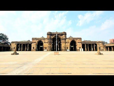 Jumma Mosque (Jama or Jami Masjid) Ahmedabad, Gujarat Documentary film on Heritage.