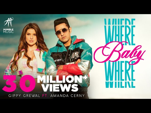 Where Baby Where (Full Video) Gippy Grewal ft. Amanda Cerny | Jaani | Sukhe | Bal Deo | Humble Music