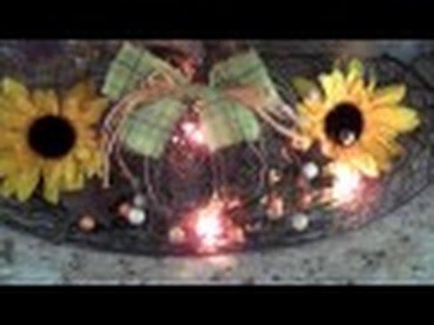 Mel 39 S Fall Decor Home Tour 2015 Part 2 Youtube