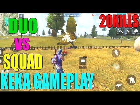 FREE FIRE DUO VS SQUAD 20 KILLS! HOW TO WIN EVERY RANKED MATCH TIPS AND TRICKS IN TELUGU