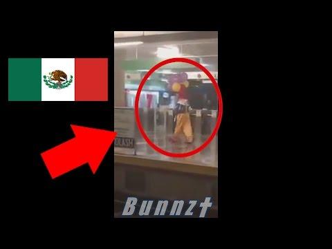 Video: Payasos ASESINOS en MEXICO VERACRUZ!! 2016