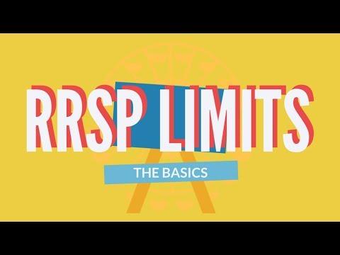 RRSP Limits Explained -  The Basics 2019