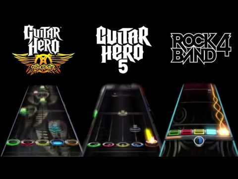 Rock Band 4 vs Guitar Hero: Aerosmith vs Guitar Hero 5: Love In a Elevator