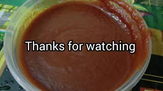 തക്കാളി സോസ്/tomato sauce