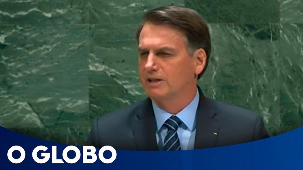 Veja a íntegra do discurso de Bolsonaro na ONU