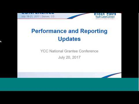 Performance, Reporting and Evaluation Updates