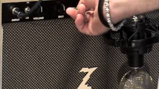 Dr Z M12 Guitar Amplifier Demo with Gibson Les Paul R8 Historic