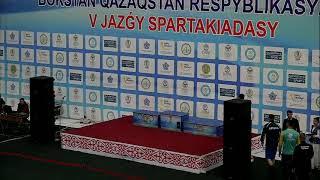 V Республиканская спартакиада по боксу среди мужчин, г. Кызылорда-2019 (07.05.2019)