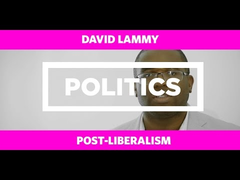 POLITICS: David Lammy - Post-Liberalism