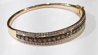 Chocolate diamonds bracelet