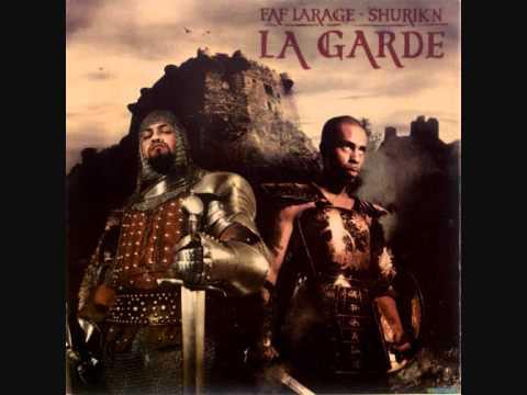 Faf Larage & Shurik'n-A Moi La Garde