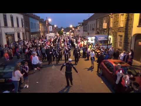 Donaghadee Fife & Drum FB (P1) @ Kilcluney Volunteers Parade 1-6-2018