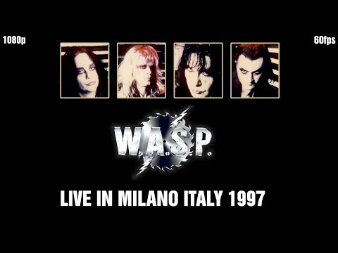 W.A.S.P. Live in Milano Italy 1997 Master Tape Edit 1080p 60