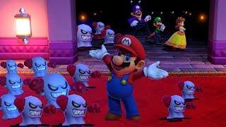 Mario Party Series - Collection of Lucky Minigames - Mario vs Daisy vs Luigi vs Waluigi