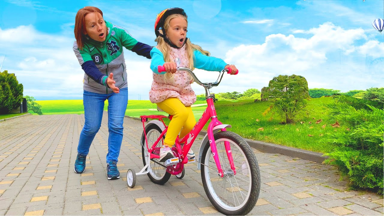 Anabella You Can Ride a Bike    Fun Kids Outdoor Adventures