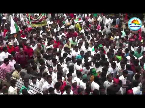 Tamil Progressive Alliance May Day celebrations in the city of Talawakelle