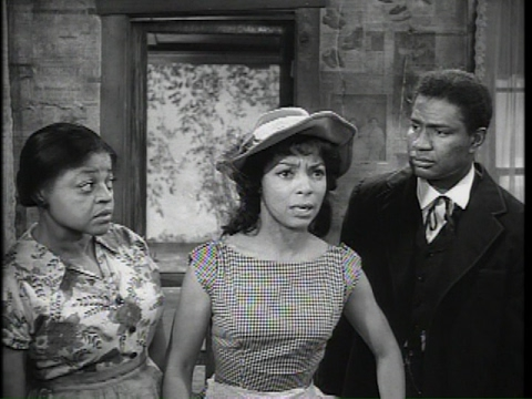 P : Gone Are The Days 1963, starring Ossie Davis, Ruby Dee, and Godfrey Cambridge