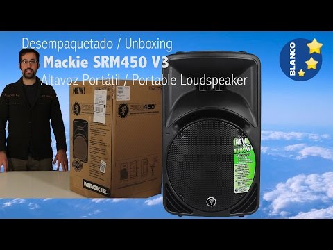 Mackie Thump 12 15 18s Srm450 Speakers Unboxing Demo At
