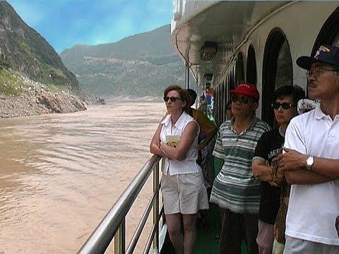 China - Jangtsekiang - Qutang Schlucht - Drei Schluchten Kreuzfahrt