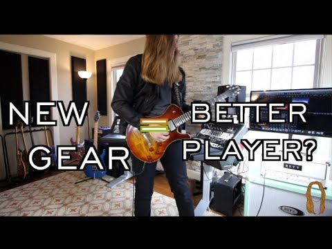 Does New Gear Make You A Better Player? ( New Amp Day)