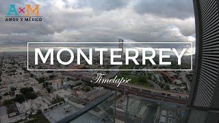TIMELAPSE Monterrey City México  l HD (Sunset)