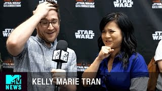 Kelly Marie Tran on Joining 'Star Wars: The Last Jedi' | MTV News