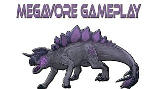 Roblox Dinosaur Simulator - Megavore Gameplay + Killing a koser