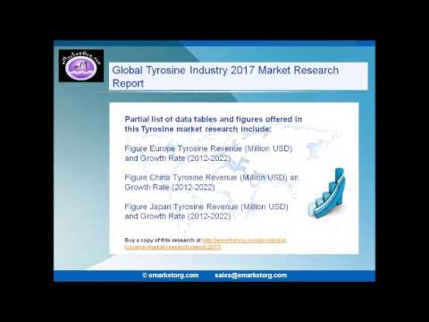 Tyrosine Industry 2017 to 2022 Focus on Global  Region Research Report