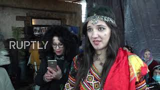 Algeria: Berbers celebrate Amazigh New Year with disputed statue of Pharaoh Sheshonq I