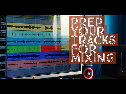 How to prepare your tracks for a professional mix session (Pro Tools)