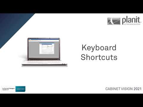 Create Keyboard Shortcuts for the Ribbon Bar options | CABINET VISION 2021
