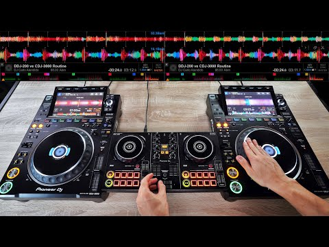 $150 DJ Controller VS $4,600 DJ Gear | Exhibition Mix With The DDJ-200 & CDJ-3000