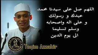 Download Lagu NEW !! Taqim Azzahir   Allahumma Sholli Ala Sayyidina Muhammadin Abdika   Audio HD mp3