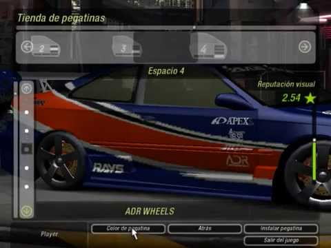 Como Crear la Monalissa de Tokyo Drift en Need for speed underground 2